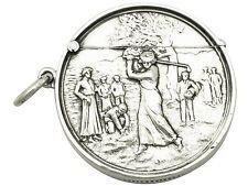 Sterling Silver Vesta Case by William J Holmes - Antique Edwardian