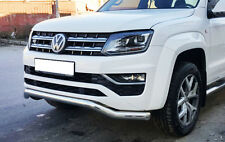 VW Amarok V6 2017 STX Twisted spoiler Bar, Ville de Bar en acier inoxydable, 70 mm