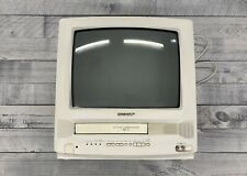 "Sharp 13Vt-L150 13"" Crt Tv/Vcr Player Combo w/ Remote Gaming Camping Televison"