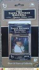 2005 Topps Retired Baseball Signature Edition Factory Sealed 12 Pack Blister Box