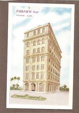 VINTAGE POSTCARD UNUSED PARKVIEW HOTEL Havana Habana Cuba