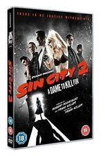 Sin City 2 - a Dame to Kill for 2014 DVD Micky Rourke Powers Boothe Cert 18