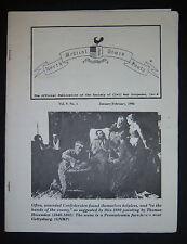 NORTH SOUTH MEDICAL TIMES Society of Civil War Surgeons 1996, No. 1 ONLY