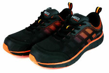 Neo Tools S1 SRC Safety Work Shoes Trainers Sneakers Anti Slip Sole Black/Orange