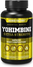 Yohimbine Extra Strength Supplement 2.5mg for Fat Loss, Energy, Libido 270 caps