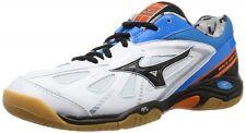 MIZUNO Badminton shoes WAVE SMASH LO3 71GA1660 White X black X blue
