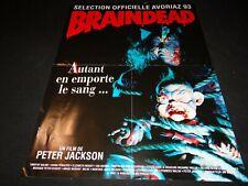 BRAINDEAD ! peter jackson affiche cinema horreur gore