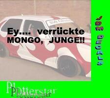 Ey verrückte Mongo Junge New Kids Sprüche Aufkleber Sticker Fun Maaskantje
