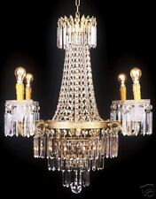 Kronleuchter ,Kristallleuchter, Lüster  Höhe100xB50cm Lampe Leuchte