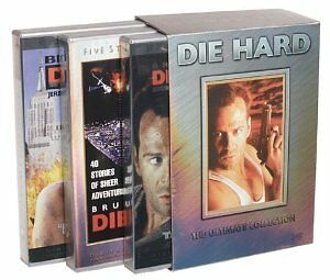 Like New DVD Die Hard - The Ultimate Collection (1995) Bruce Willis 6 Discs