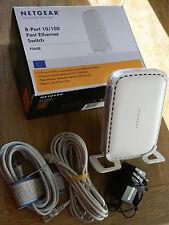 Netgear FS608 fast ethernet network Switch 8 port 10/100 Router MODEM internet