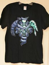 """Final Fantasy VII """"Fight For The Planet"""" T-Shirt NES Sony Playstation [Size M]"""