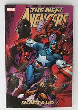 The New Avengers Secrets & Lies Marvel Graphic Novel Brian Bendis