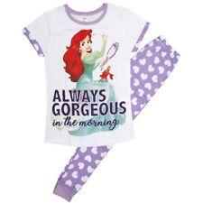 NEW OFFICIAL Disney Princess Ariel Classic Ladies Womens Pyjamas PJs Pyjama Set