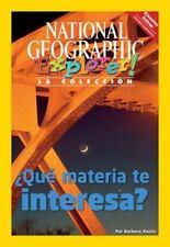 Explorer Books (Pathfinder Spanish Science: Physical Science): ¿Que materia te