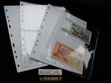 10 Pages For Schulz Banknote Albums Note Collection Collector Album M-2