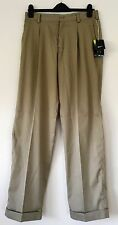Nike Men's Dri-Fit Tour Pleated Tan Golf Pants ~ Size 30x32 NWT ~ MSRP $80