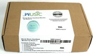 Wusic Womb Music Heartbeat Monitor with earbuds and recording cable EUC