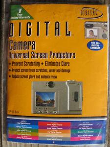 Digital Camera Universal Screen Protectors NEW