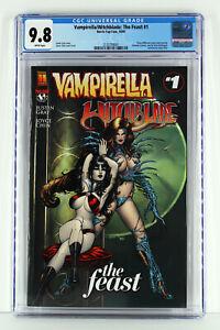 Vampirella / Witchblade: The Feast #1 CGC  9.8 WP