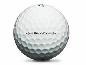 3 Dozen Titleist Pro V1x 2016 Used Golf Balls 5A NO LOGOS Mint Refinished Balls