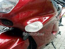 weisse Blinker vorne Kawasaki ZZR 1100 D clear front signals