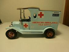 Matchbox American Ambulance Field Service - 1912 Ford Model T - YYM38057