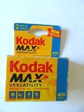 Kodak Max Versatility 400 Film 2 Rolls 24 Exposure