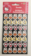 Vintage Sanrio Hello Kitty Halloween Sandy Lion Sticker Pack🎃 2 Sheets 2008