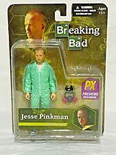 Mezco Toys Breaking Bad Jesse Pinkman Blue Hazmat PX Previews Exclusive Figure