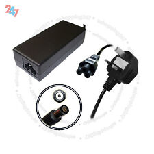 AC Charger For HP COMPAQ NW8440 NW9440 NX6110 18.5V 65W + 3 PIN Power Cord S247