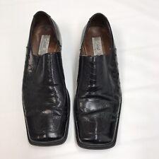 Fratelli Footwear Black Dress Shoes Women's Size 10.5 Square Toe  A02