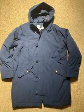 NWT Brand New! GAP Men's Down Parka Jacket, sz L Large  #349481 Navy Blue