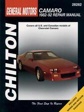 Chilton Repair Manual Chevrolet Camaro, 1982-92  #28282