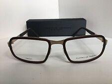 New PORSCHE DESIGN P 8220 P8220 C 56mm Titanium Rx Men's Eyeglasses Frame Japan