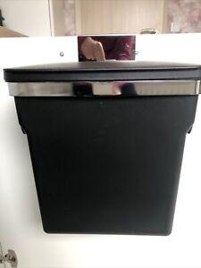 simplehuman Schrank-Abfalleimer 10 Liter, Mülleimer