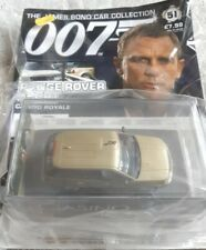 James Bond Car Collection Range Rover Sport Casino Royale Die Cast 1:43 NEW