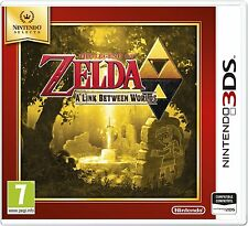 THE LEGEND OF ZELDA A LINK BETWEEN WORLDS 3DS TEXTOS EN ESPAÑOL NUEVO PRECINTADO
