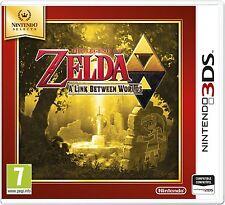 THE LEGEND OF ZELDA A LINK BETWEEN WORLDS 3DS TEXTOS EN ESPAÑOL NUEVO PRECINTADO