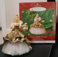 Hallmark Keepsake Ornament Celebration Barbie 2000 Series #1 Christmas Holiday