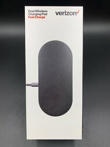 100% Original Verizon Dual Wireless Charging Pad Fast Charge | Black💎NEW💎