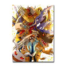 Digimon Adventure Tri Anime Art Silk Poster Taichi Yagami Agumon 13x20 inch