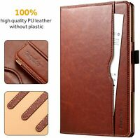 EasyAcc For Samsung Galaxy Tab A 10.5 T590/T595 PU Leather Case With Pen Holder