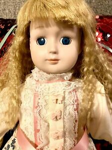 The Spirit of Karina Haunted Porcelain Doll Very Active