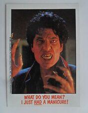 1988 Topps FRIGHT FLICKS Horror Movies Trading Card #36 ~ FRIGHT NIGHT