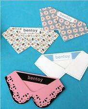US Lot 4pcs Korean stationery Bentoy Bookmark clothes collar fun novelty Cute