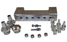 Stealth vacío colector-Plata Para Boost Gauge FPR válvula de descarga Ebc Controlador