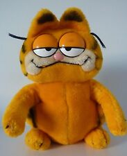 BIG VINTAGE 1981 DAKIN FAT CAT GARFIELD KITTY CARTOON PLUSH STUFFED ANIMAL TOY