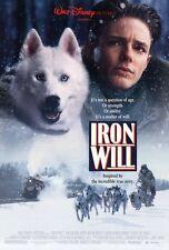 IRON WILL Movie POSTER 27x40 MacKenzie Astin Kevin Spacey David Ogden Stiers