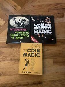Lot Of 3 Vintage Magic Books